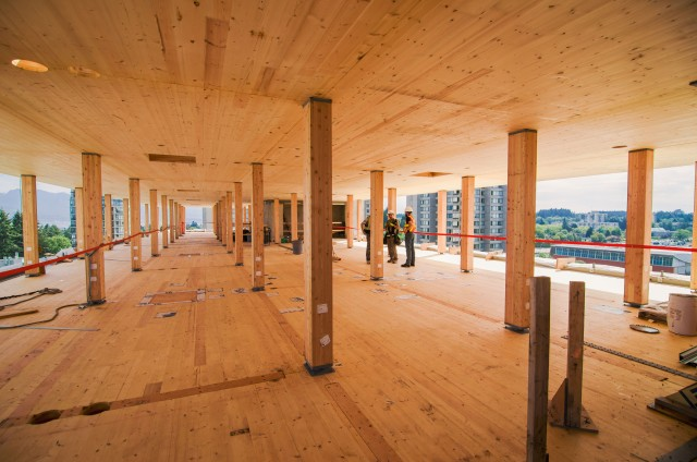 Ubc Branches Out Into Tall Wood Structures Using Bim