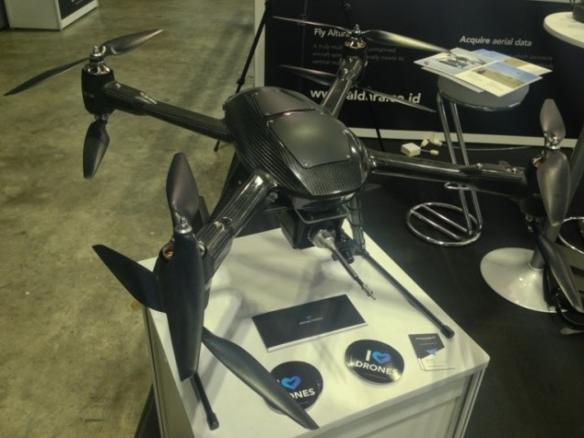 The Alturia Zenith octacopter from Aerialtronics. (Image courtesy of the author.)