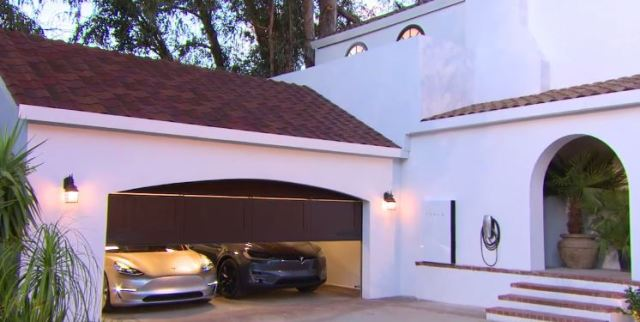 Integrated Home with a Solar Roof, a Battery, and an EV Charging Station
