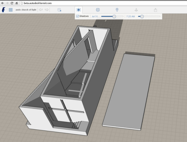 Autodesk's FormIt may remind you of another architectural conceptual modeling program