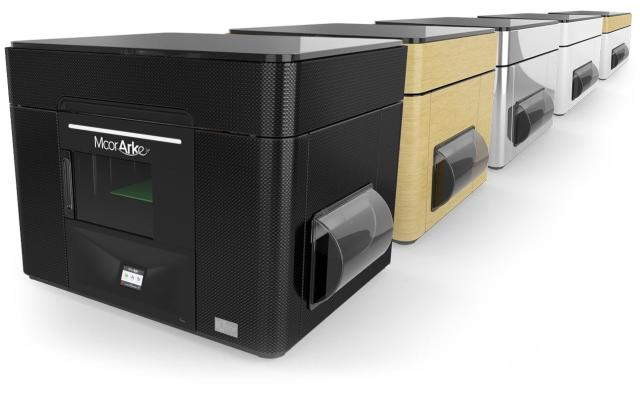 The McorARKe 3D printer is the newest full-color 3D printer from Mcor. (Image courtesy of Mcor.)