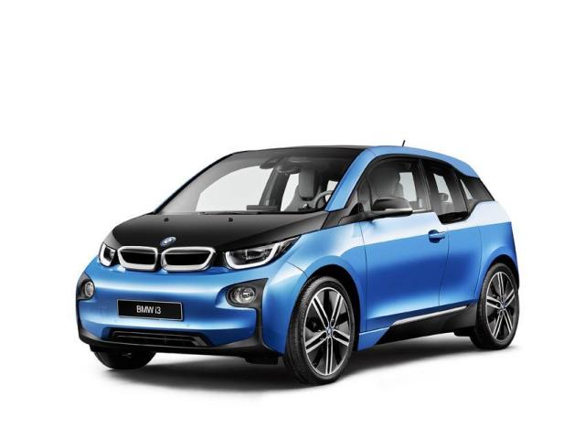 The BMW i3 featuring CFRP parts. (Image courtesy of BMW.)