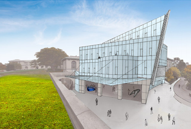 ANSYS partners with Carnegie Mellon University for a three-story, 30,000-square-foot building with a maker space, labs and classrooms, scheduled for 2018. (Image courtesy of ANSYS.)