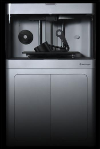 The Mark X is Markforged's bigger, more precise printer, which has built-in quality control mechanisms. (Image courtesy of Markforged.)