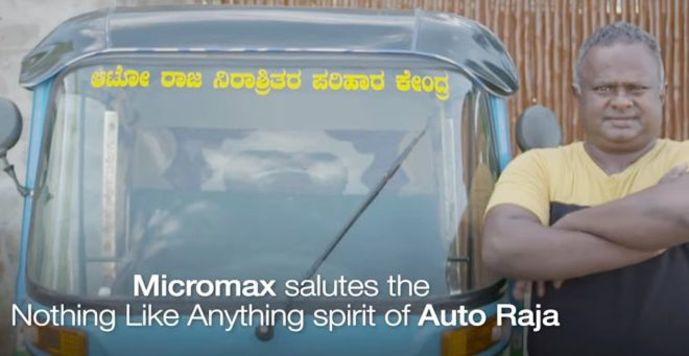 Raja with auto