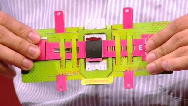 Flutur foldoscope