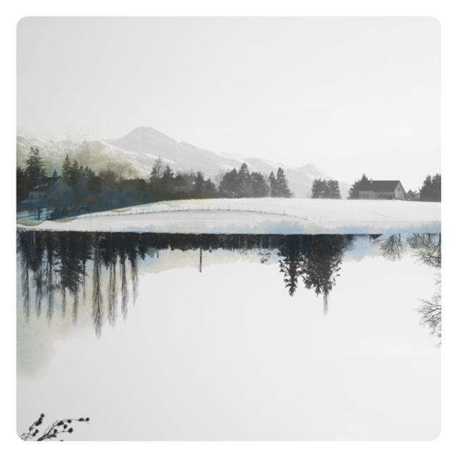 Watercolors, Photographs, Labokoff, Memories, Dreams, Epistrophy, Lake, Mirror, Fabienne Rivory