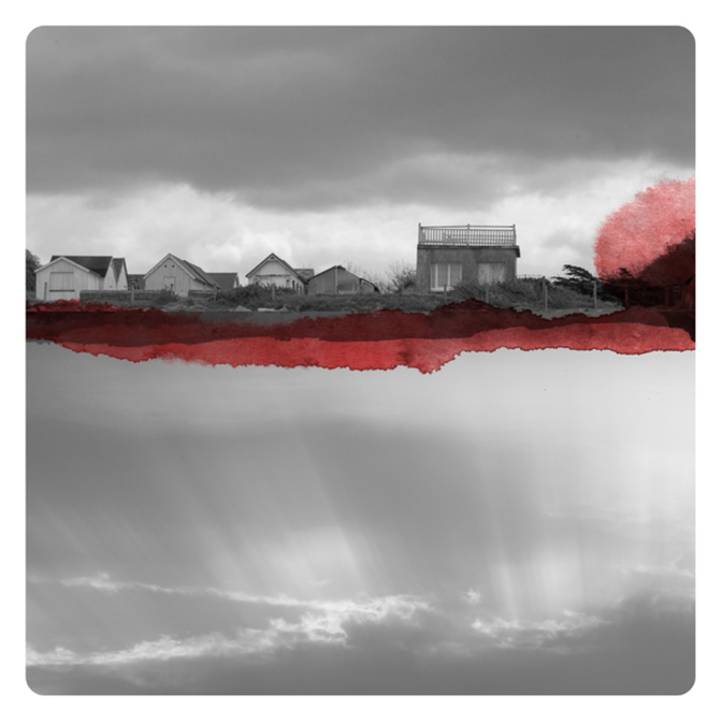 Watercolors, Photographs, Labokoff, Memories, Dreams, Epistrophy, Red with Houses, Mirror, Fabienne Rivory