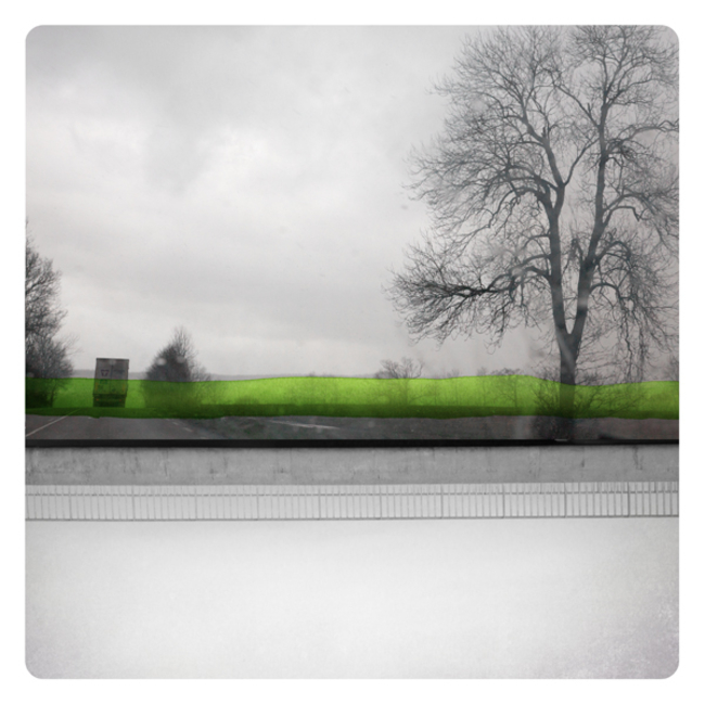 Watercolors, Photographs, Labokoff, Memories, Dreams, Epistrophy, Green with Road, Mirror, Fabienne Rivory