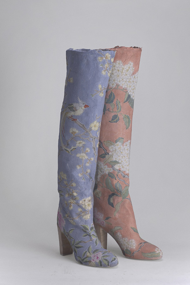 Body Drawings, Paper Drawings, China, Epistrophy, Red and Blue Boots