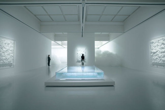 tokujin yoshioka, crystals, swan lake, epistrophy, modern design, gallery