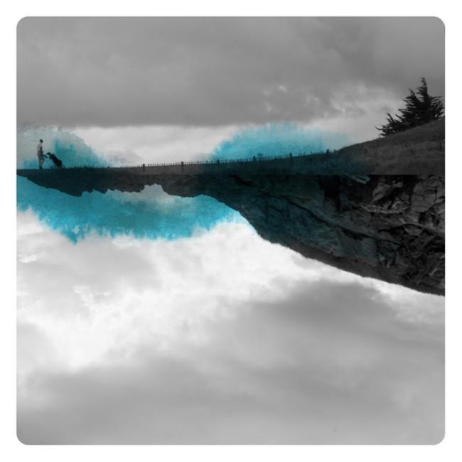 Watercolors, Photographs, Labokoff, Memories, Dreams, Epistrophy, Blue, Mirror, Fabienne Rivory
