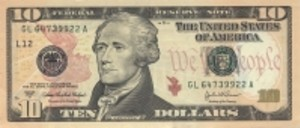 alexander hamilton, ben bernanke, ten dollar bill, $10, why no women on currency