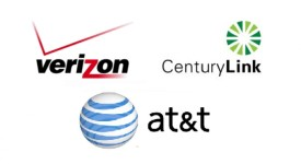 Image result for , Verizon, AT&T and CenturyLink,