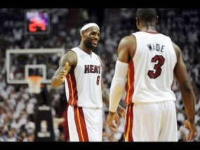 Lebron James,  Dwyane Wade of the Heat, NBA Draft, NBA Free Agency