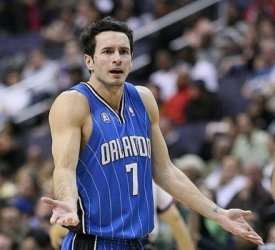 JJ Redick as a Magic.
