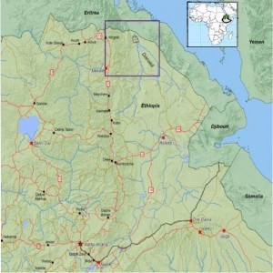 Allana Potash's Ethiopian Project Presents Enormous Potential in a High-Demand Market (Map 1)