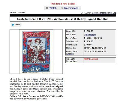 best investment, investing in art, grateful dead art, investing in art, best investing advice