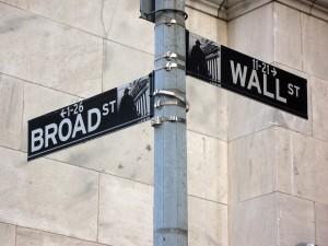 Wall Broad Street Stock Market