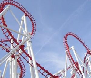 Stock Market Roller Coaster