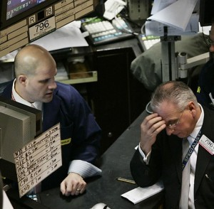 Stocks Close Lower on No Progress for Fiscal Cliff