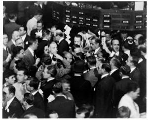 Stock Traders Wall Street