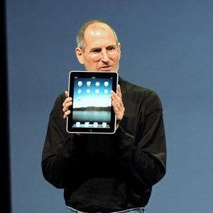Steve Jobs iPad Apple AAPL