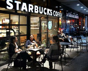 Starbucks Raises Nudges Targets Upwards and Beats on Earnings