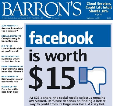 Is Facebook Really Only Worth $15?