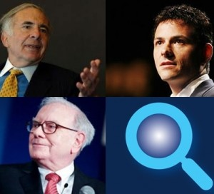 warren buffett, carl icahn, david einhorn, investing with the best