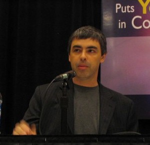 Larry Page, CEO of Google GOOG