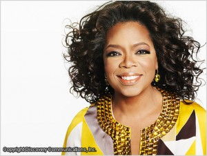 Oprah Winfrey, CEO of Harpo Productions