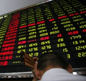 China Stocks Retreat from High Ground