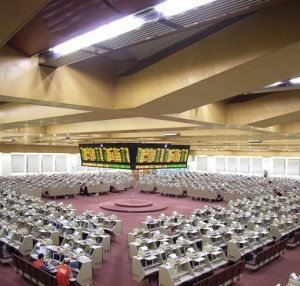 China Stock Market Trading Floor