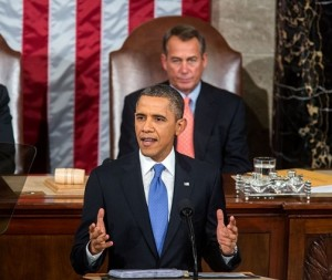 President Obama's State of the Union Focuses Primarily on Economic Issues