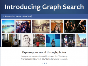 Facebook Graph Search, what is facebook graph search