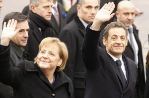 Germany Chancellor Angela Merkel France President Nicolas Sarkozy