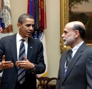 Ben Bernanke President Barack Obama