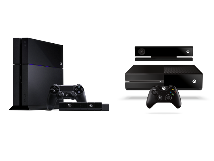 XBoxOne PlayStation 4