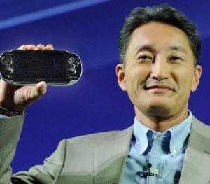 Kazuo Hirai with Playstation Vita-e1368546595726-300x263