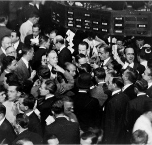 Stock Traders Wall Street