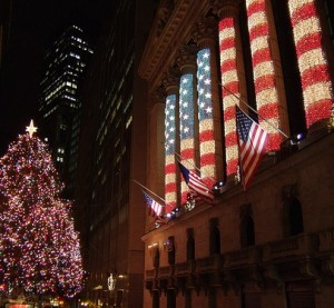 Wall Street Christmas