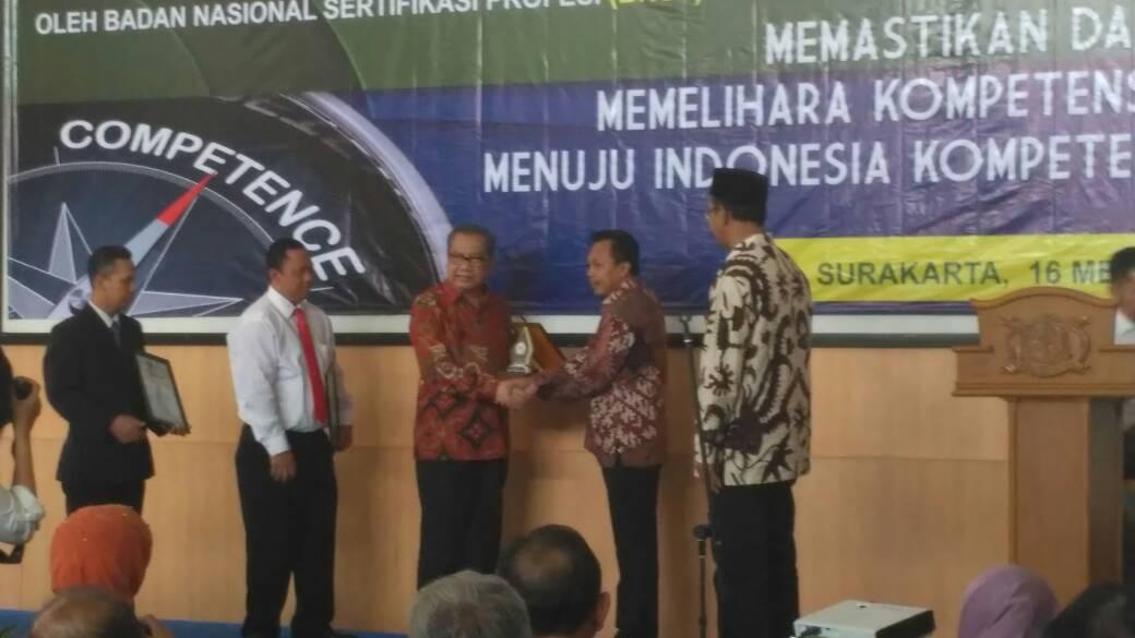 LSP STMIK AUB Surakarta Memperoleh Lisensi dari BNSP