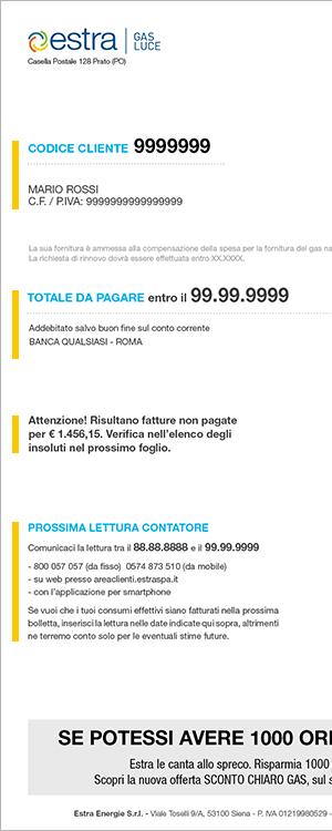 Bolletta bg