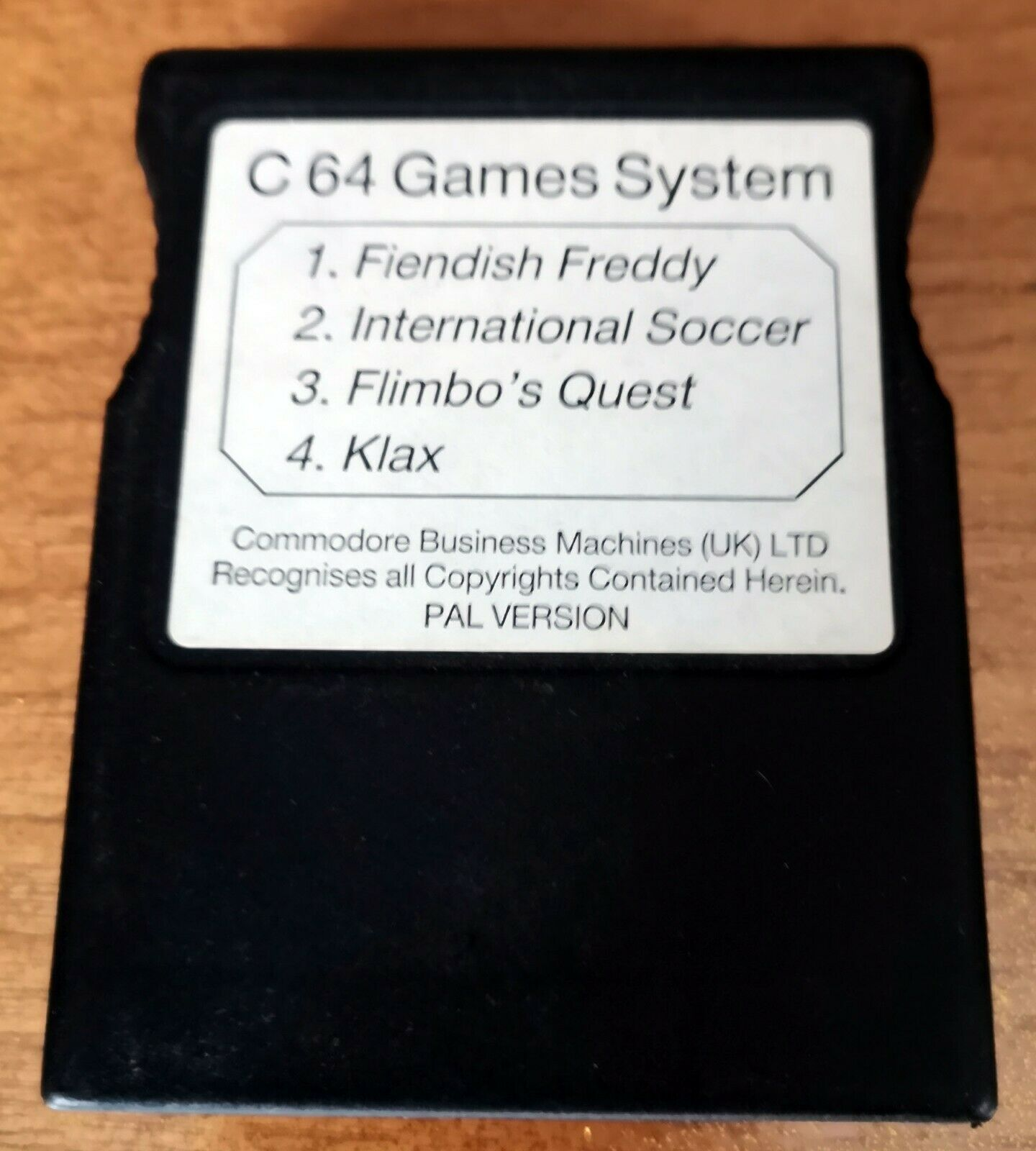 C64 Games System Cartridge