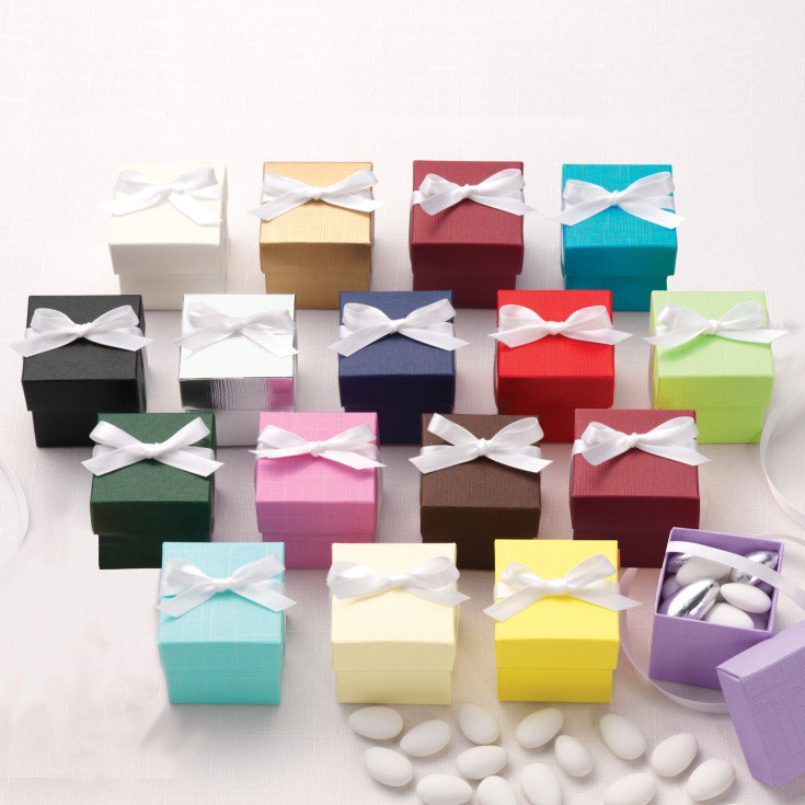 colorful two piece wedding favor box 2 piece wedding favor box