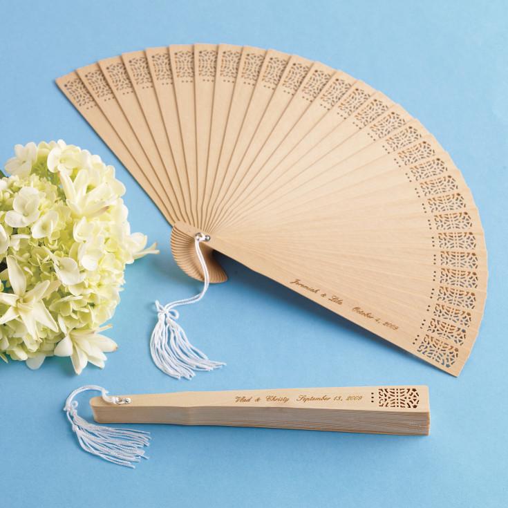 Personalized Sandalwood Fan