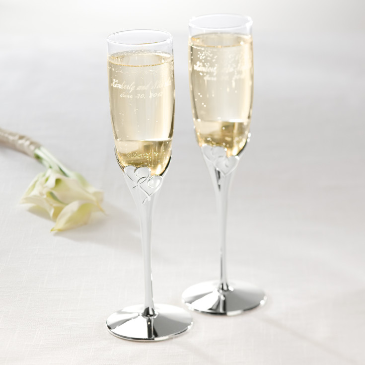 lenox true love toasting flutes wedding toasting flutes