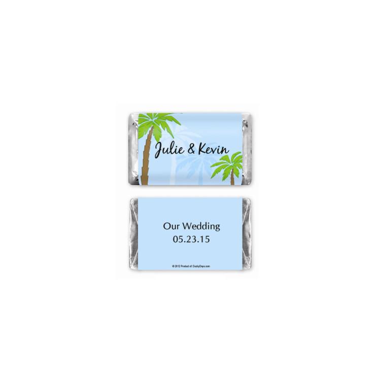 Hershey s 174 tropics mini chocolate bars personalized favor