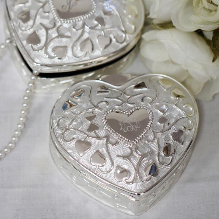 Heart to Heart Keepsake Box Bridesmaid Gifts